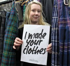 Our sustainable fashion starts with our talented and creative kiltmakers  Karen joined our team following an extensive education of studying Art and Design at Borders College, Fashion for Manufacturing at North East Scotland College and Theatre Costume at Edinburgh College.  After this, Karen qualified as a kiltmaker through the Edinburgh Kiltmakers Academy. She has made over a dozen kilts since!  #WhoMadeMyClothes #LovedClothesLast #FashionRevolution #FashionRevolutionWeek Theatre Costumes, Keep It Real, Kilts, Art Studies, College Fashion, Studying, Sustainable Fashion, Edinburgh, Sustainability