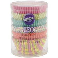 Wilton Assorted Spring Theme Baking Cups 150Pack -- Continue to the product at the image link.