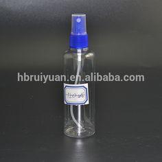 clear plastic 2 oz pet empty spray bottles refill mist pump travel reuse bottle buy