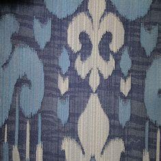 Radcliffe Damask Pattern Lurex Burnout Velvet Upholstery Fabric