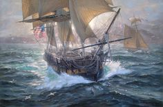 USS Constellation, 1854, a sloop-of-war, the only ship left that had active service during the Civil War.
