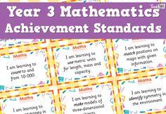 Maths Achievement Standards - Yr3