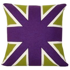 Fond of this pillow. Need this in my purple/green room.