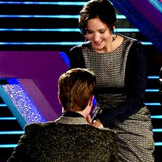 3/4 behind the scenes of Catching Fire ♥