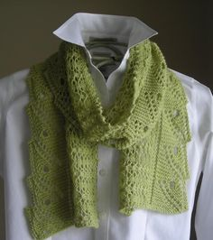 Front Porch Fern Leaf Lace Scarf/Shawl    This is very pretty too!!