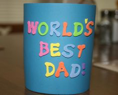 {Father's Day} 10 Father's Day Crafts for Kids