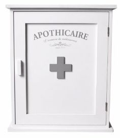 French Style Medicine / Bathroom Cabinet. First Aid Cabinet.: Amazon.co.uk: Kitchen & Home