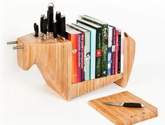 kitchen bull by toro legno nxgis Book Storage System Helping You Cook with Enthusiasm: Kitchen Bull