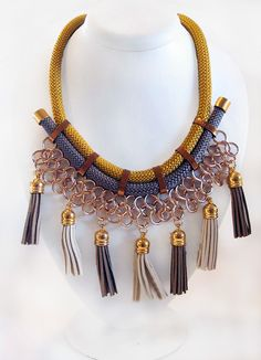 """innamorata """"Mohican"""" #necklace"""