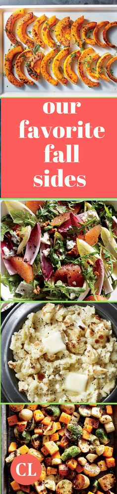 Make extra batches of your favorite fall sides recipes so you can enjoy them more than once during your busy week. Mix and match spices and herbs to keep cooking simple but flavors exciting and vibrant. Side Recipes, Fall Recipes, Dinner Recipes, Healthy Dinners, Healthy Eats, Healthy Recipes, Cooking Light Recipes, Clean Eating Tips, High Fiber Foods