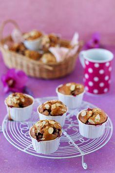"""Un """"Flo"""" de bonnes choses » Muffins moelleux aux mûres – IG bas"""