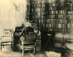 Frederick Douglass in his Library on Digital History Art Of Manliness, Frederick Douglass, Digital History, Look At The Book, Free Novels, Personal Library, The Orator, Famous Men, Way Of Life
