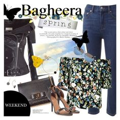 """""""BAGHEERA BOUTIQUE: Spring vibes!"""" by an1ta ❤ liked on Polyvore featuring Marc by Marc Jacobs, Faith Connexion, Topshop, Salvatore Ferragamo, Givenchy and Victoria Beckham"""