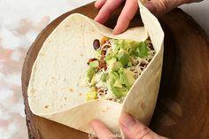 Składanie burrito