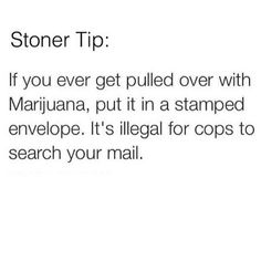 You could be charged with the federal crime of sending drugs through the mail. Stoner Quotes, Stoner Humor, Weed Quotes, Weed Memes, Weed Humor, Cannabis, Medical Marijuana, Puff And Pass, Smoking Weed