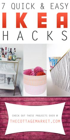 7 Quick and Easy Ikea Hacks - The Cottage Market
