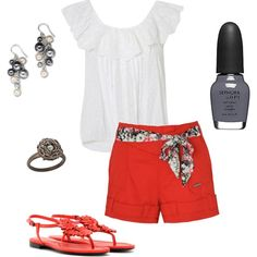 Hanging with Friends, created by delrae77 on Polyvore