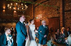 Lauren and Chris' real life wedding at Curradine Barns | CHWV