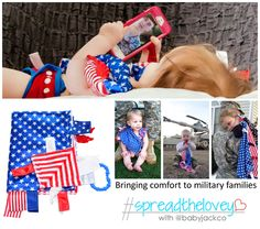 "{ends 6/9} ""Give Back to Military Families"" ""Baby Jack & Co"" ""Carrying On Project"" ""#SpreadTheLovey for Military Families"""