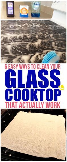 6 Easy Ways to Clean Your Glass Cooktop That Actually Work