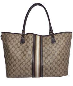 c3346b465f Depot vente luxe en ligne - Luxury Eshop online - GUCCI - CABAS EN TOILE  ENDUITE