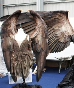 The Behind-the-Scenes Scoop on the Creation of Maleficent's Iconic Look - Maleficent's Wings from #InStyle
