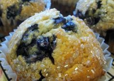 """ Blueberry Muffins "" ( made with splenda ) Recipe -  Very Tasty Food. Let's make it!"