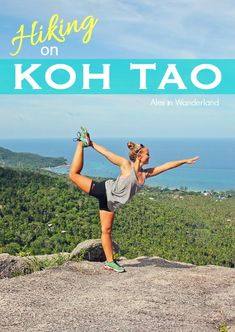There's more to Koh Tao, Thailand, than diving and parties! Check out two of my favorite hiking trails the next time you're in this tropical paradise Alex in Wanderland Thailand Destinations, Thailand Honeymoon, Thailand Travel Guide, Asia Travel, Thailand Tourism, Visit Thailand, Thailand Adventure, Adventure Travel, Muay Thai Gym