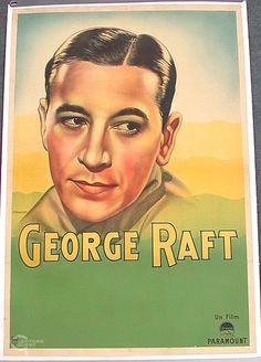 George Raft poster...