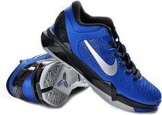 http://www.asneakers4u.com Nike Zoom Kobe 7 Elite Shoes Blue/Black/Gray0
