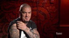 Pantera's Phil Anselmo Tattoo Tour