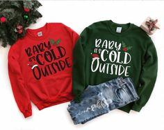 Holiday Sweater, Christmas Sweaters, 1st Fathers Day Gifts, Its Cold Outside, Christmas Gifts For Her, Long Sleeve Shirts, The Outsiders, Crew Neck, Pullover