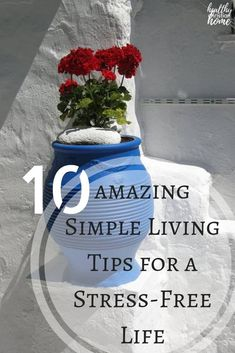 Simple living is difficult to achieve in today's world, but it can be done! Let's look at the top ten things you can do to make life simple and stress-free. Slow Living, Mindful Living, Frugal Living, Simple Living, Natural Living, Natural Life, Natural Health, Vie Simple, The Simple Life