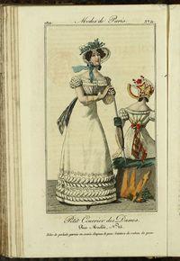 Petit Courrier des Dames : annonces des modes, des nouveautés et des arts del 25 de Mayo de 1822