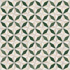 VIA APPIA: Medix-pr Verde - 43'5x43'5cm.   Pavimento - Porcelánico   VIVES Azulejos y Gres S.A.