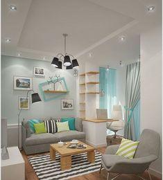 10 Amazing Living Room Color Combination Ideas - Living room and Decorating Farm House Living Room, Living Room Colors, Room Color Combination, New Living Room, Bright Living Room, Home Decor, Apartment Decor, Living Room Grey, Interior Design