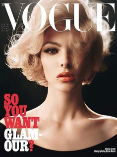 Vittoria Ceretti for Vogue Italia July 2016 | Photographer Steven Meisel