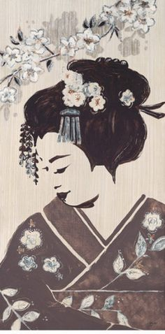 Geisha Paintings | Geisha Art, Paintings, Photos, Bella-Dos-SantosKyoto-Geisha.jpg