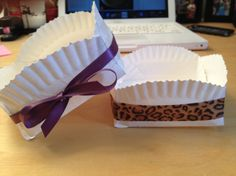 paper plate gift boxes