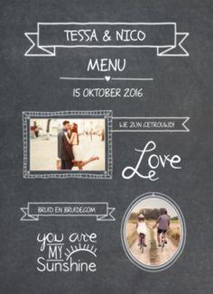 Zwarte krijtbord menukaart met fotoshttp://www.koningkaart.nl/action/webshop/productdetails/29981/zwarte-krijtbord-menukaart-met-fotos.html