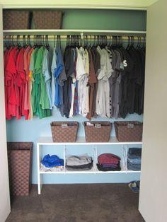 Babyu0027s Closet Home And Garden Design Ideas | Closet Organization |  Pinterest | Organizations And Creative Storage