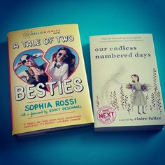 I love Monday's, it's the day I start my reading list for the week. I'm starting with these two :) #Besties for #BookClub this Friday!