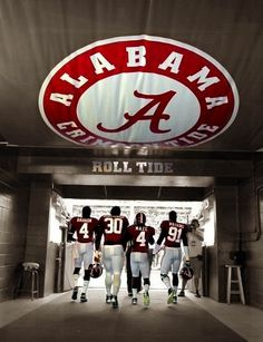 Crimson Tide!     For Great Sports Stories and Audio Podcasts Visit our Blog at www.RollTideWarEagle.com