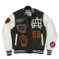 Power Letterman's Jacket (Forrest Night) - A.K.O.O. Clothing