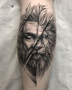 diseños de tatuajes 2019 Image may contain: 1 person - Tattoo Designs Photo Dope Tattoos, Lion Head Tattoos, Badass Tattoos, Forearm Tattoos, Unique Tattoos, Beautiful Tattoos, Body Art Tattoos, New Tattoos, Tattoos For Guys