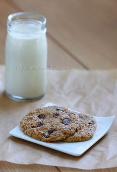 Cookies for Two -- 185 calories for the entire recipe
