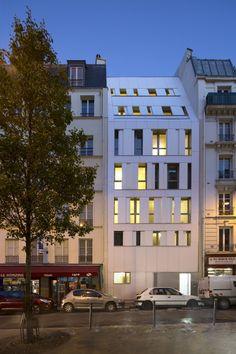Rue des Poissonniers Housing / MAAST