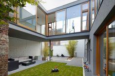 So ergibt sich eine Rundumsicht, und man kann sich aussuchen, was man im eigenen Haus gern im Blick haben möchte | Carsten Blankenhorn ©Michael Reisch, Düsseldorf