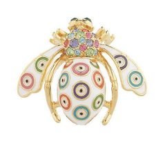 "No longer available but I'm digging this Joan Rivers ""evil eye"" bee pin. Her bee pins are so iconic!"