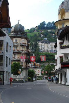 City Center, Engelberg, Switzerland.